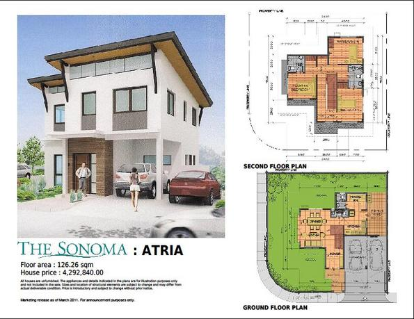 The sonoma at sta rosa city laguna august 2011 for 150 square meters house floor plan
